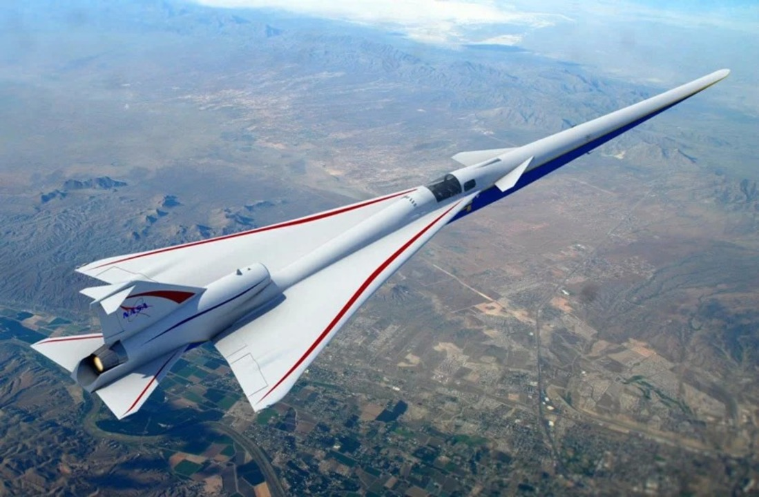 前面に窓がない? NASAの超音速ジェット機「X-59」