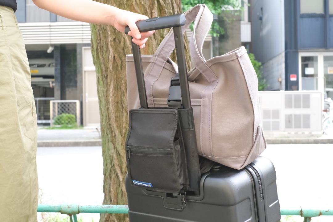 旅を快適にする相棒⁉︎ いろんなバッグをドッキング可能にするオーガナイザー「Travel Bag Buddy」を使ってみた