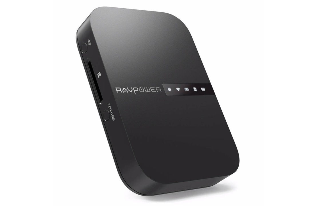ルーター・ワイヤレスカードリーダー・モバイルバッテリーが融合してキメラすぎる! RAVPowerの多機能ファイルハブが25%オフで登場