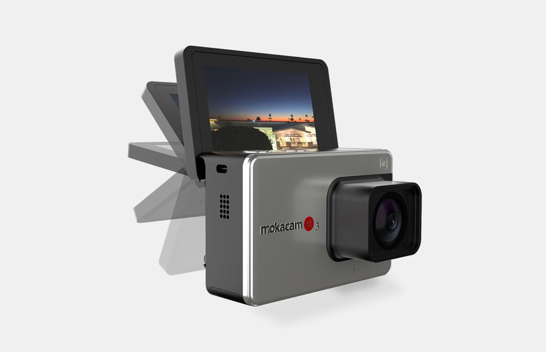 GoPro+RX0II=アクションカム初自撮りチルトモニター搭載「Alpha3」