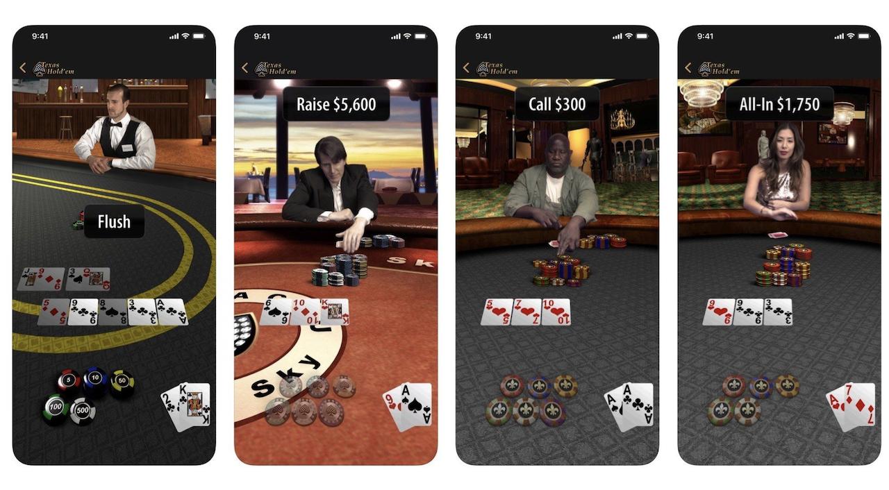 遊んでく? Apple公式ポーカーアプリ「テキサス・ホールデム」が復活