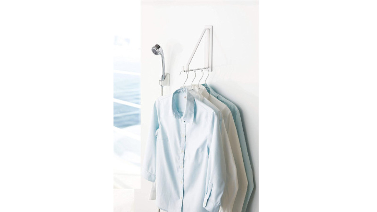 雨の日、洗濯物乾かない問題…。え、こんなところに干せるんだ!?
