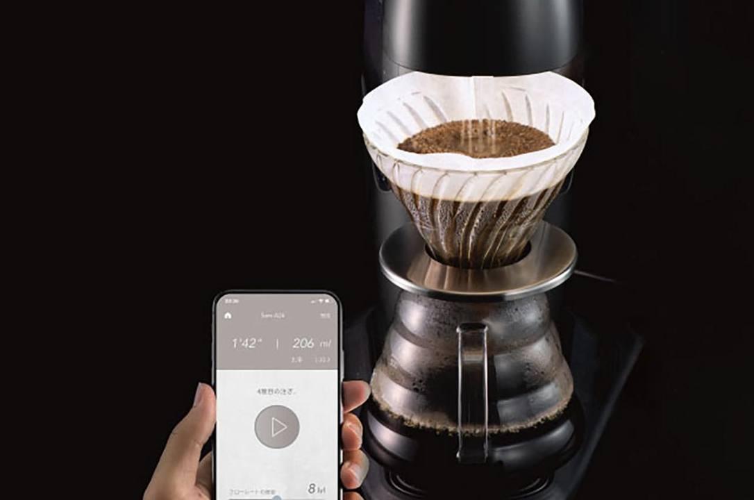 Bluetooth対応コーヒーメーカーがあればあなたも有名バリスタになれる!