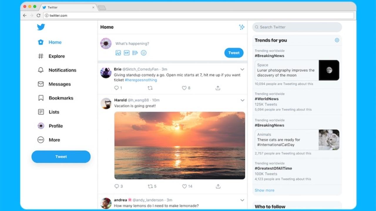 ダークモード追加! Twitterデスクトップ版がデザインリニューアル