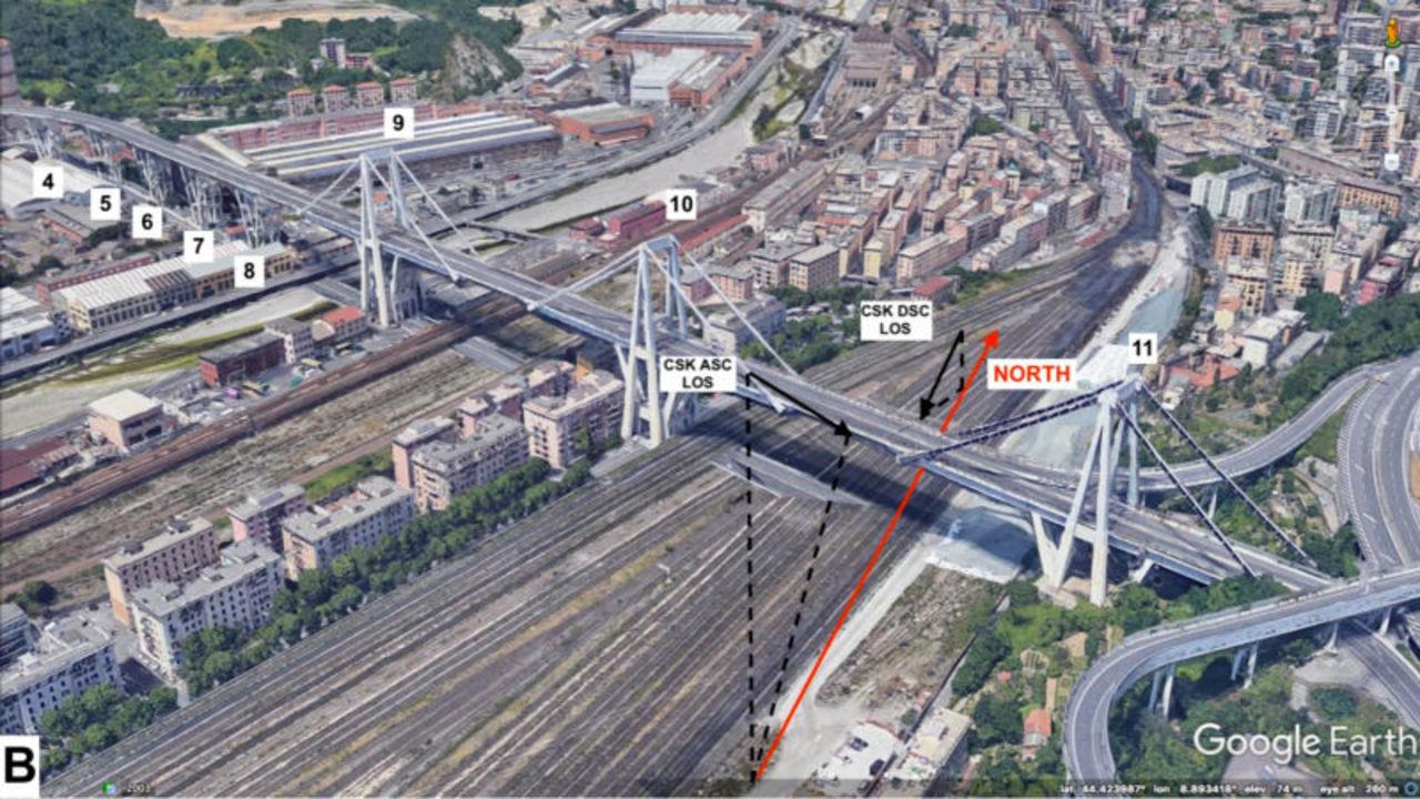 橋の崩壊を衛星画像から予測できるようになりました