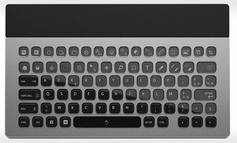 どの配列で使う? すべてのキーの表示をカスタマイズ出来るキーボード