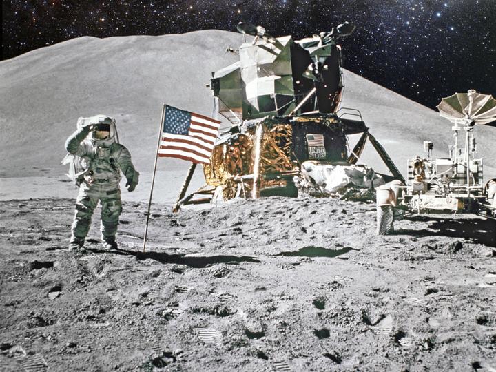 月面着陸50年、人類はやっぱり月に行っていた