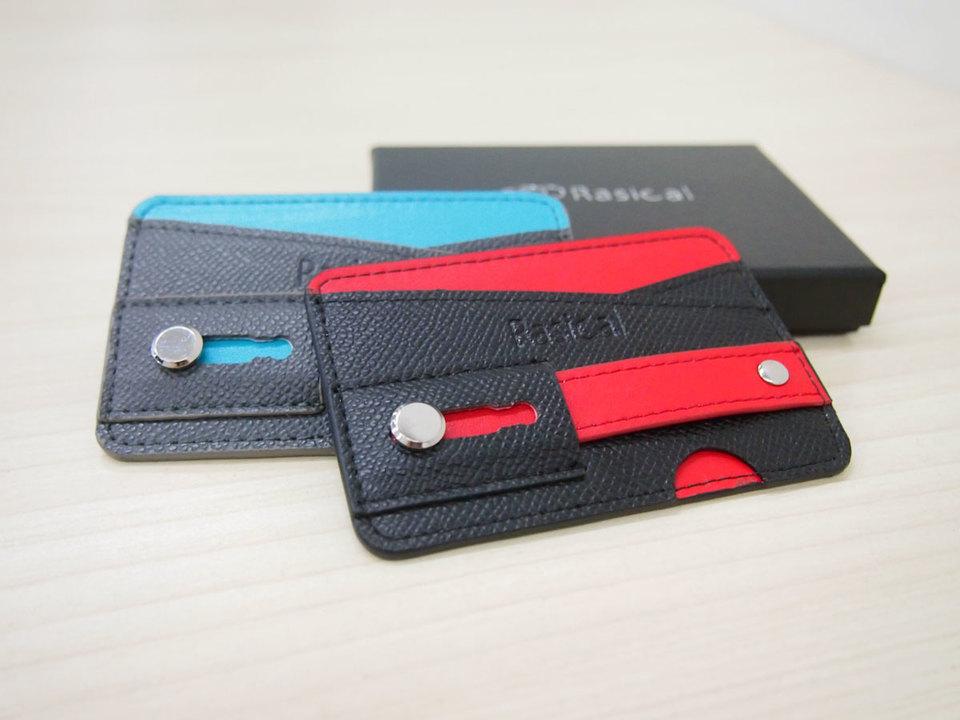 一石三鳥⁉︎リング、スタンド機能を備えたスマホ用ミニマル財布「ピタロス」を使ってみた。