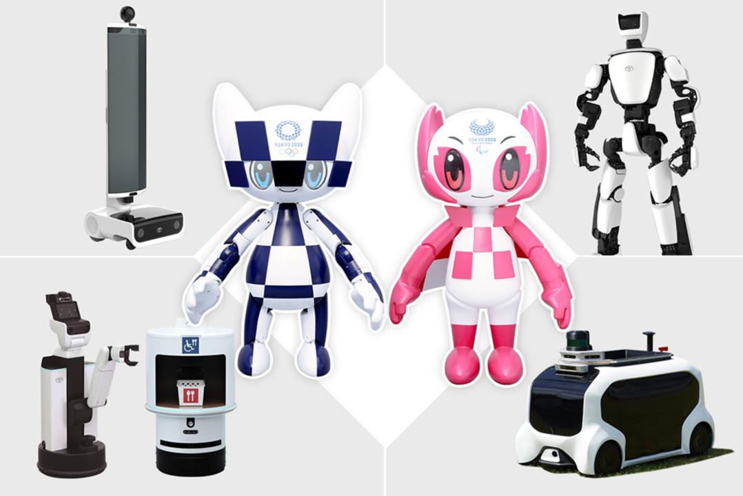 トヨタが作る東京五輪のロボットたち、会場でさまざまなサポートを担う
