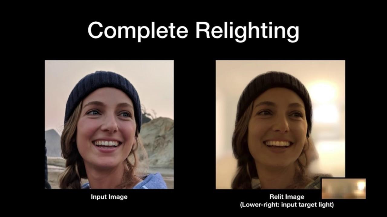 チープなスマホでも撮影後にライティング調整、Googleなどが研究