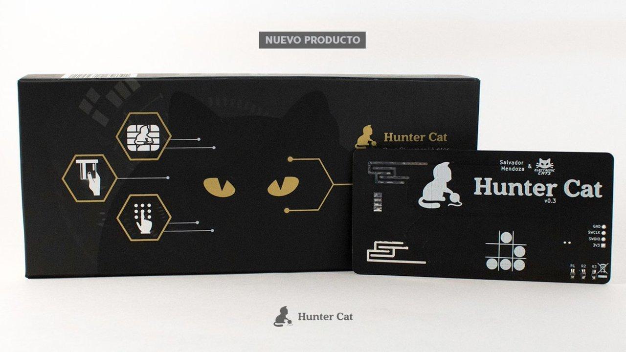 心強い。ATMに設置されたスキミング詐欺マシンを見破るカード「Hunter Cat」が見参