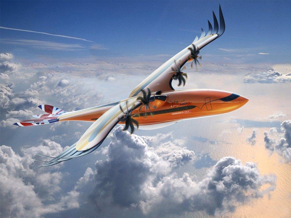 飛行機と鳥の融合? エアバスの新コンセプト「Bird of Prey」が超未来的