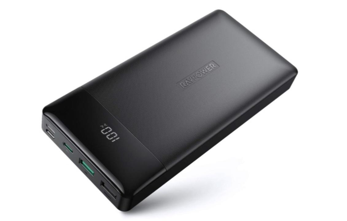 なんでも充電できる頼もしさよ…。RAVPowerの大容量モバイルバッテリーが20%OFFで販売開始!