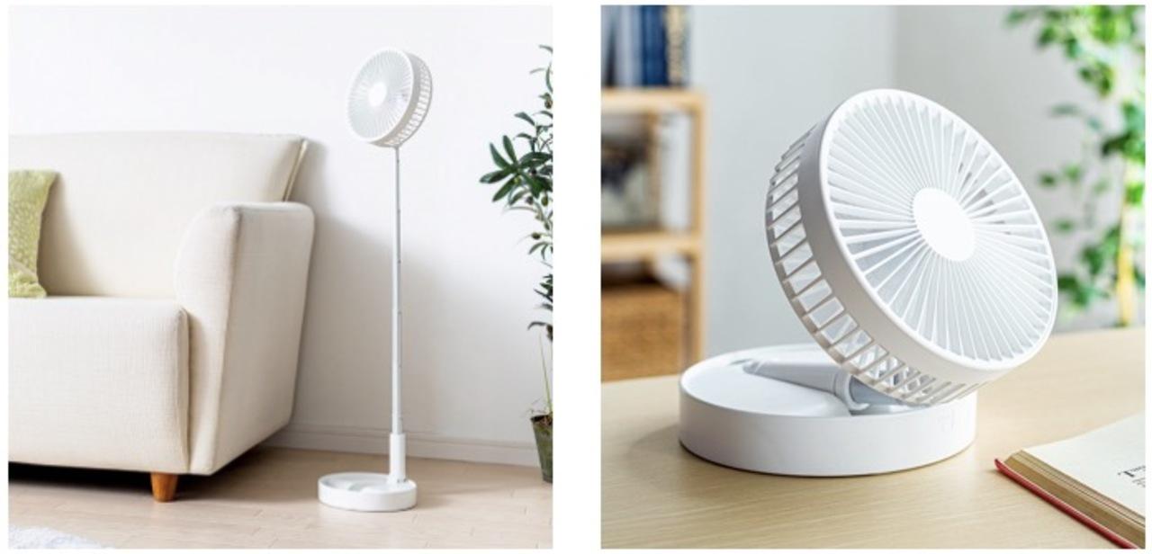 今夏のインパクト家電はこれだな。猫のように縦に伸びーーーーーーる扇風機