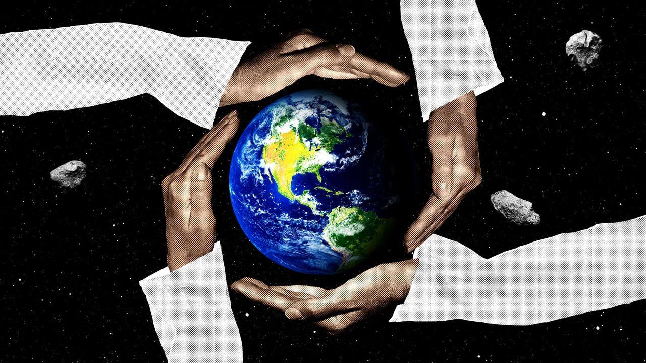 地球を小惑星の衝突から護ってる人たちの話