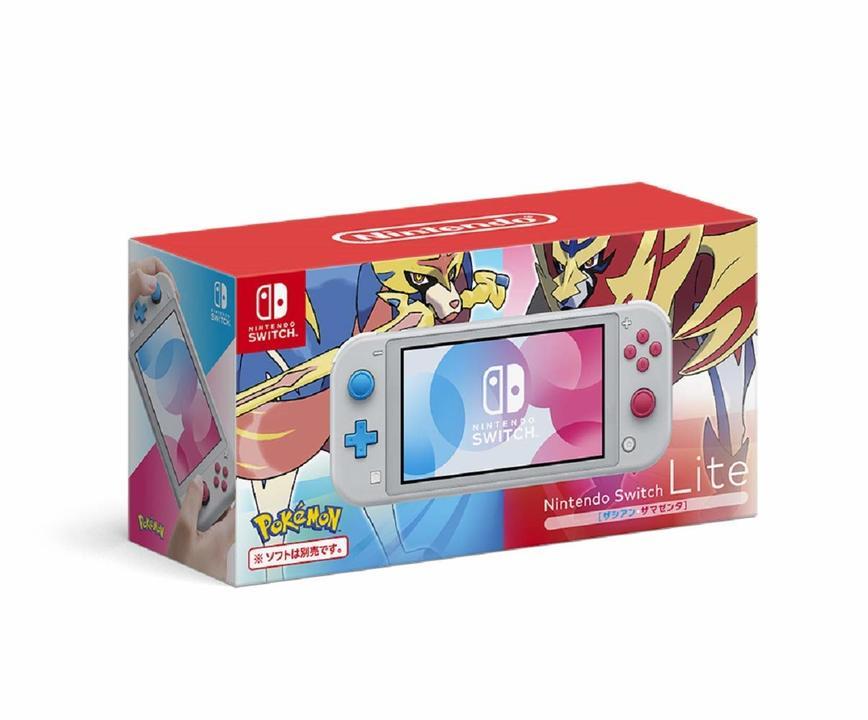 早めに予約だぜ! ポケモン新作の特装版「Nintendo Switch Lite ザシアン・ザマゼンタ」が予約受付チュウ!