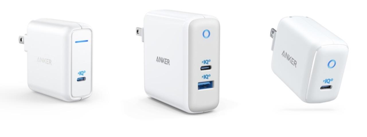 USB-C(PD)三銃士がやってきた! Ankerの新型充電器がセールと共に3つ同時リリース!