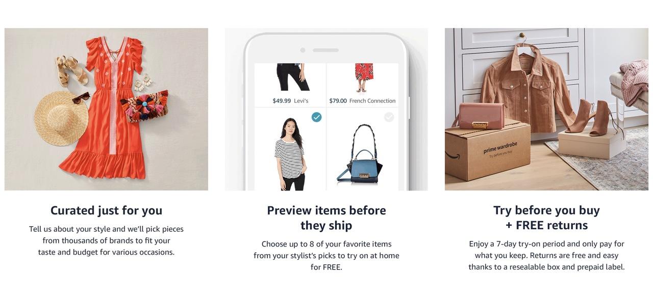 新しい自分を発見できそう。アマゾンが自分好みの洋服を届けてくれるサービスをローンチ