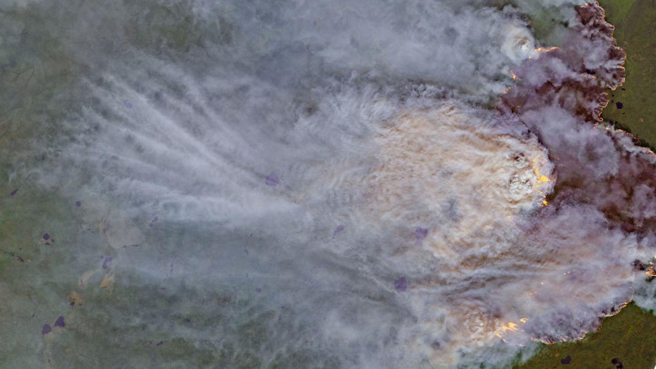 北極の暑さ、もはや一線を超えた? 森林火災が史上最多ペース