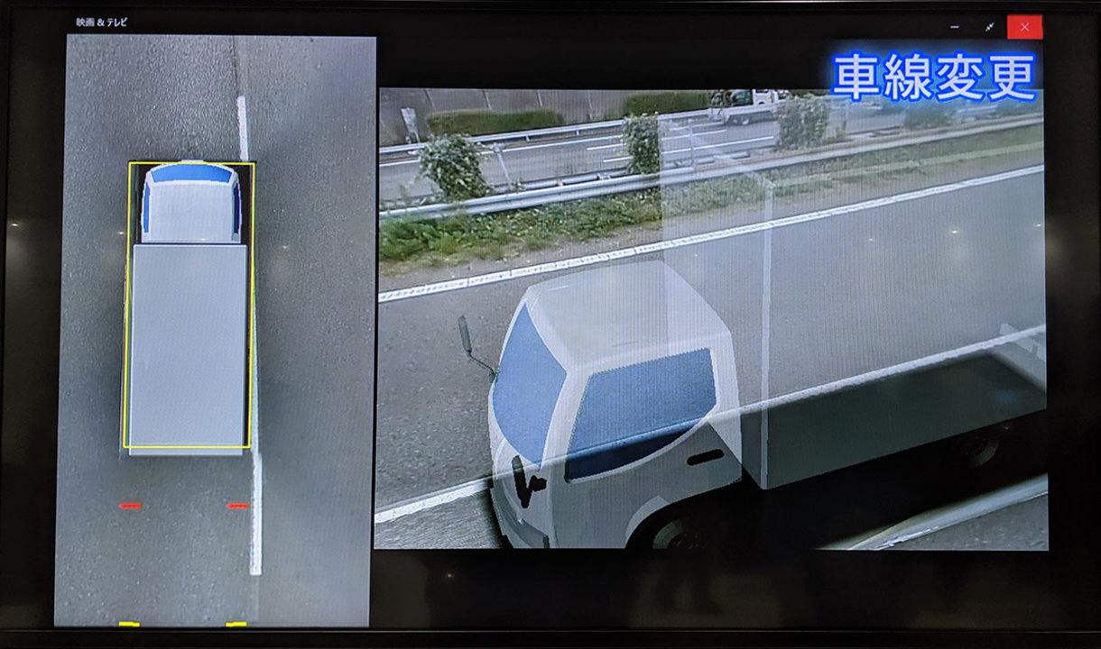 未来のトラックは半透明になる。死角を消すカメラテクノロジー #楽天オプティミズム