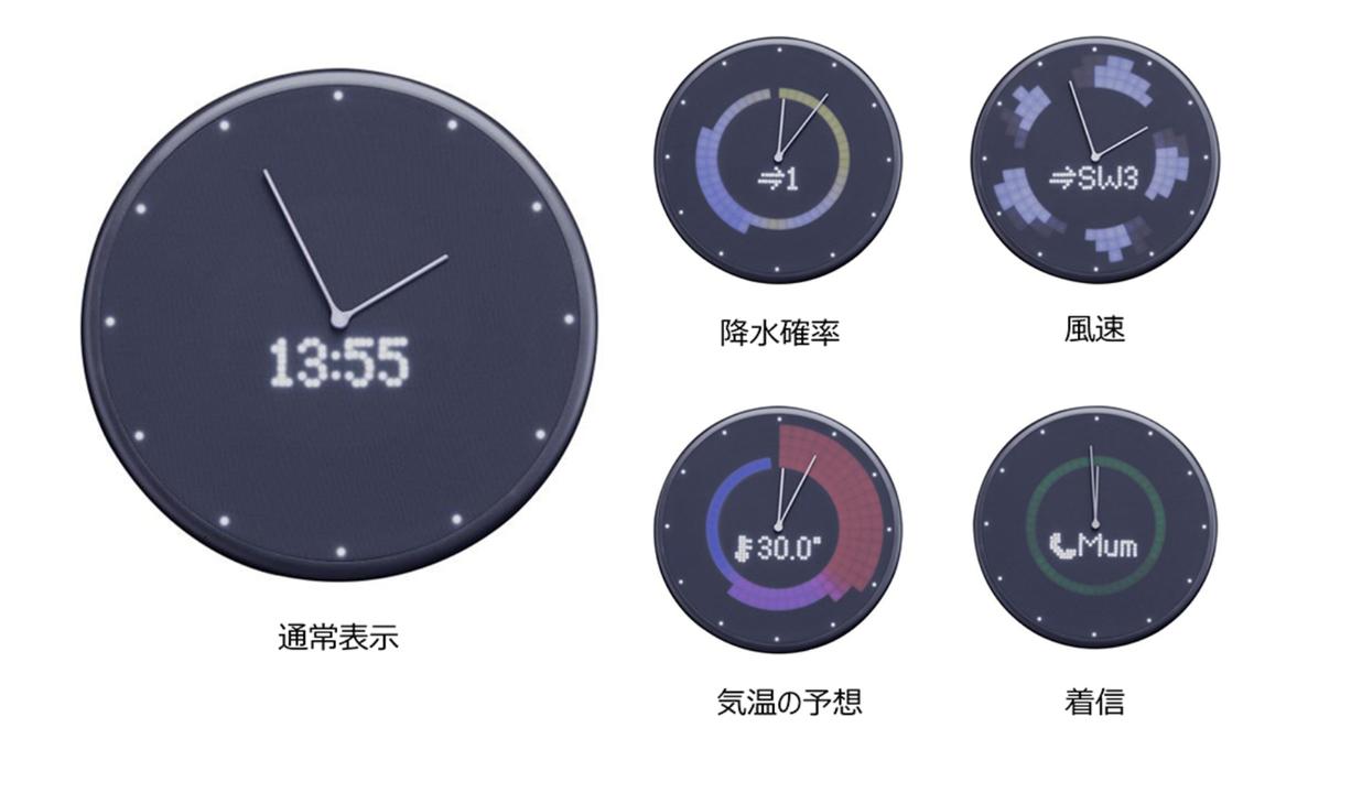 スケジュールや天気も確認できるIoT壁かけ・置き時計「Glance Clock」。Amazonで10%オフセールを開催中!