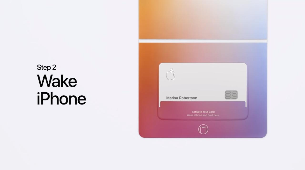 チタン製のApple Cardはこうやってアクティベートする