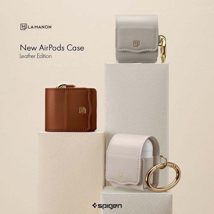 ランドセルじゃないよ。Spigenの新ブランドからQi充電も対応したAirPods用レザーケースが発売
