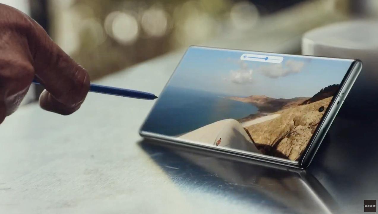 【速報】Galaxy Note10発表:ペンで遠隔ジェスチャー操作!!