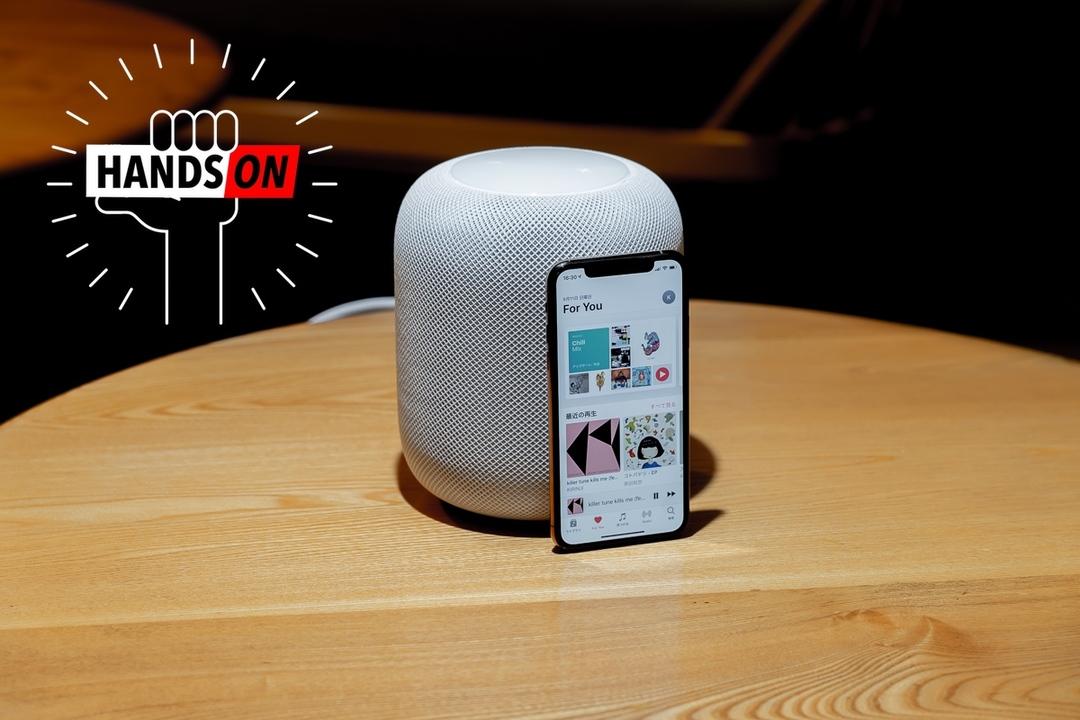 Apple HomePodハンズオン:iMacライクなワンパッケージ、音楽ストリーミング時代のリファレンス・スピーカー