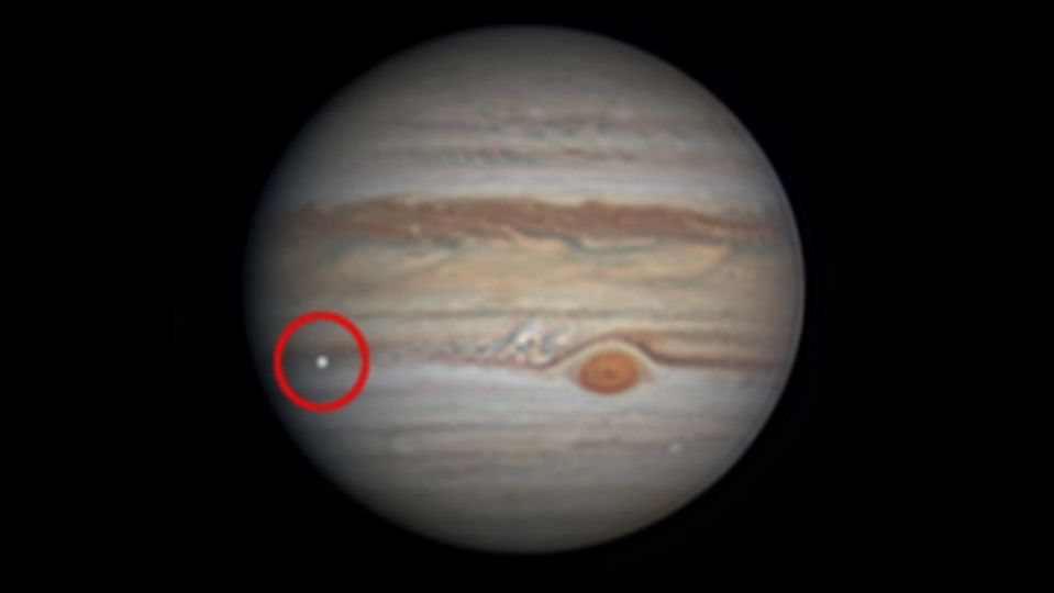 木星に巨大な隕石が衝突? アマチュア天文家が閃光をとらえる