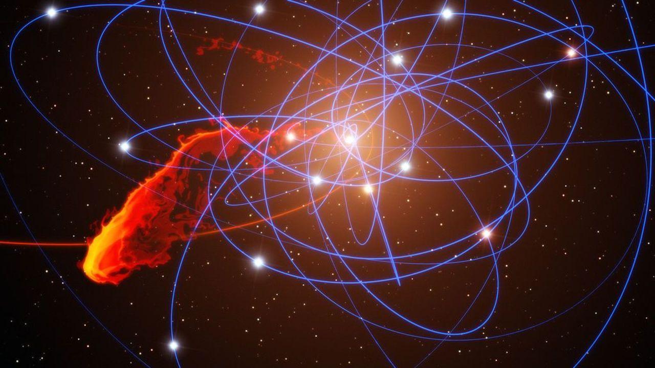 天文学者が銀河のブラックホールから前例のない閃光を発見