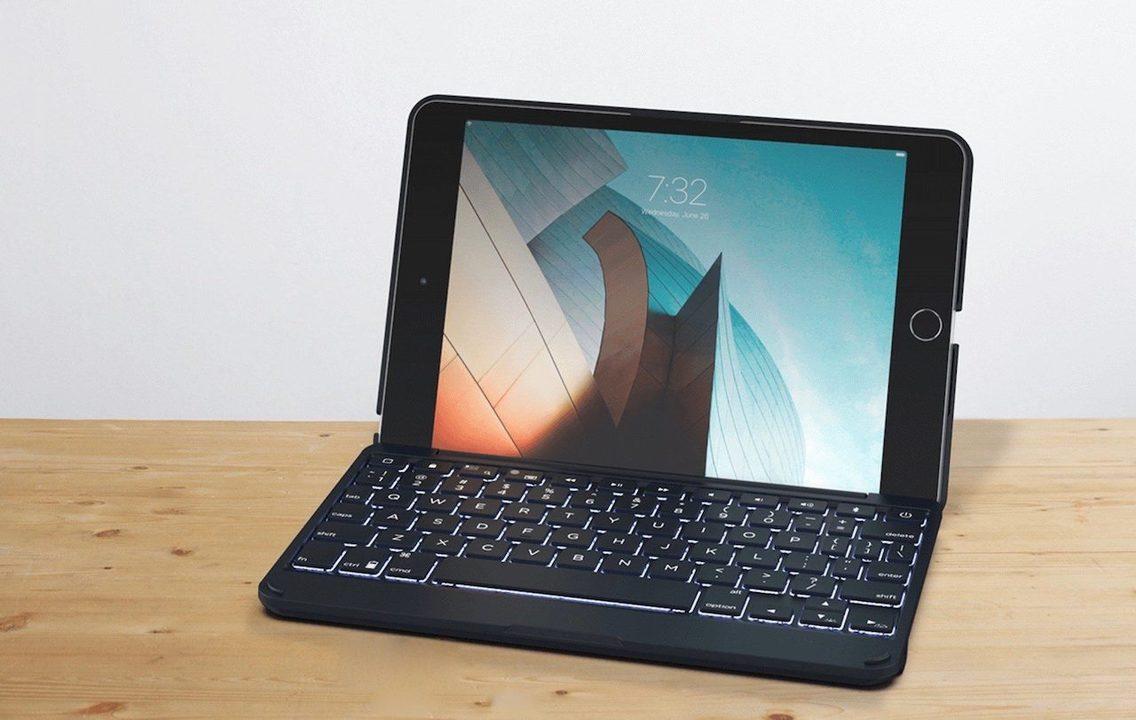 これよこれ。iPad mini 5をラップトップ風にできるキーボードケース