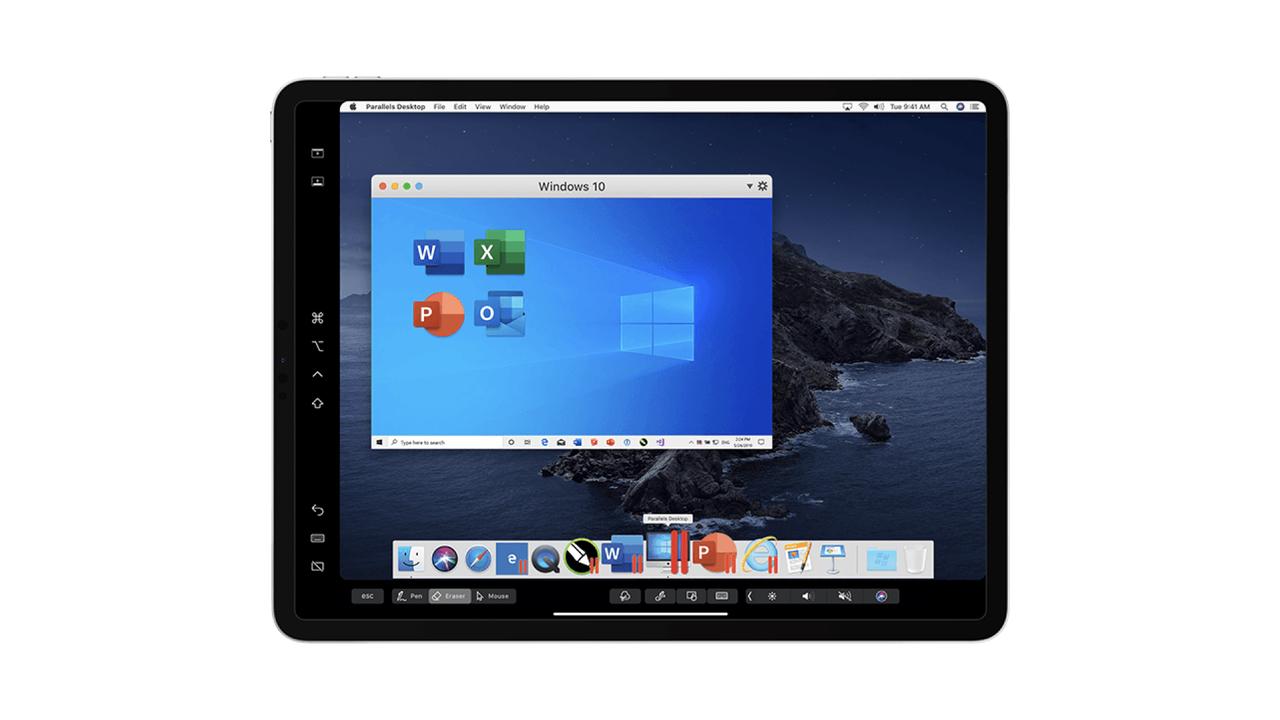 MacでWindowsを動かす「Parallels Desktop」の最新版、SidecarでApple Pencilが使えますぜ