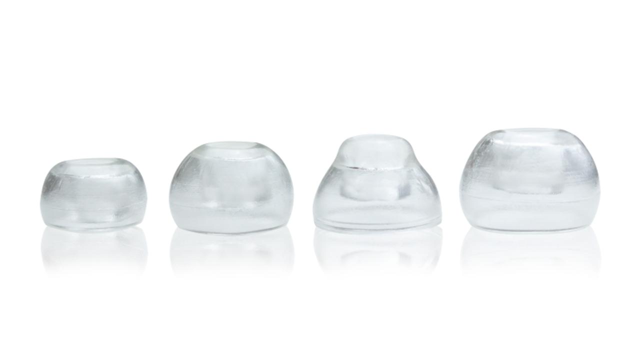 人の体温で軟化するイヤーピース「SureSeal Tips」