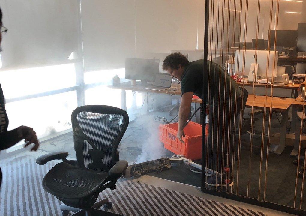 電動スクーターのバッテリー発火でDropbox本社の従業員が避難