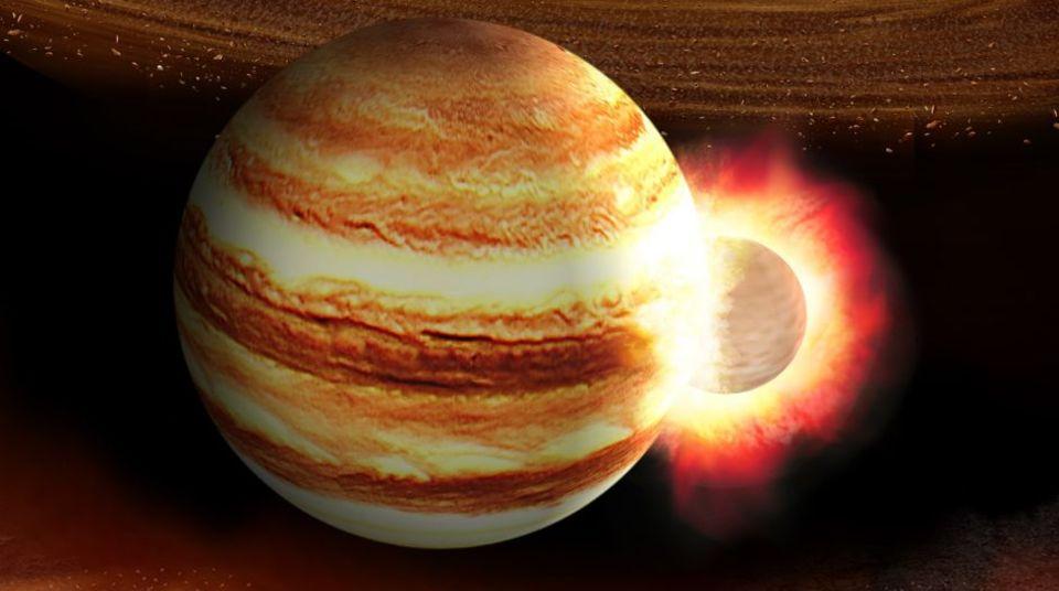 木星は地球の10倍もある惑星と正面衝突していたかも、大昔