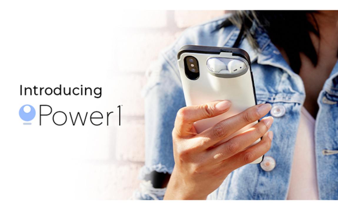 AirPodsとiPhoneが合体!AirPodsが収納できるiPhoneケース「Power1」がよさげです