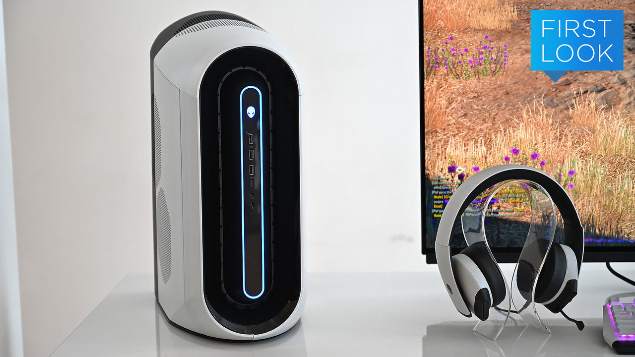 ゲーミングデスクトップPC「Alienware Aurora」ファーストルック:一新されたデザイン、クールな冷却システム!