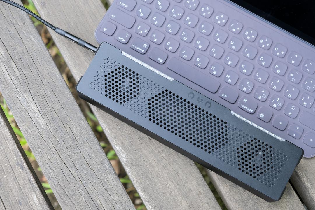 USB1本でズンズン! フルデジタルのポータブルスピーカー「OVO」を使ってみた
