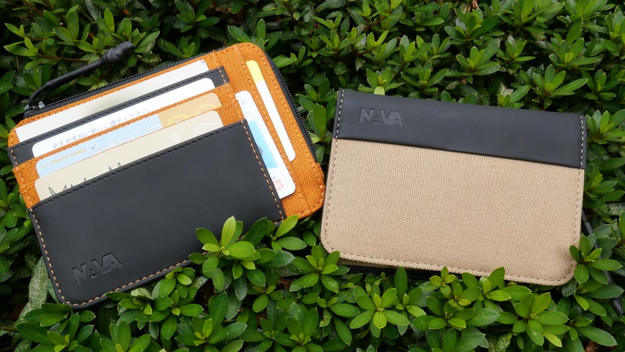 薄型のミニ財布なのに、小銭もお札もカードもOK! 毎日持ち歩きたくなるNAVAデザインのカードウォレットまとめ