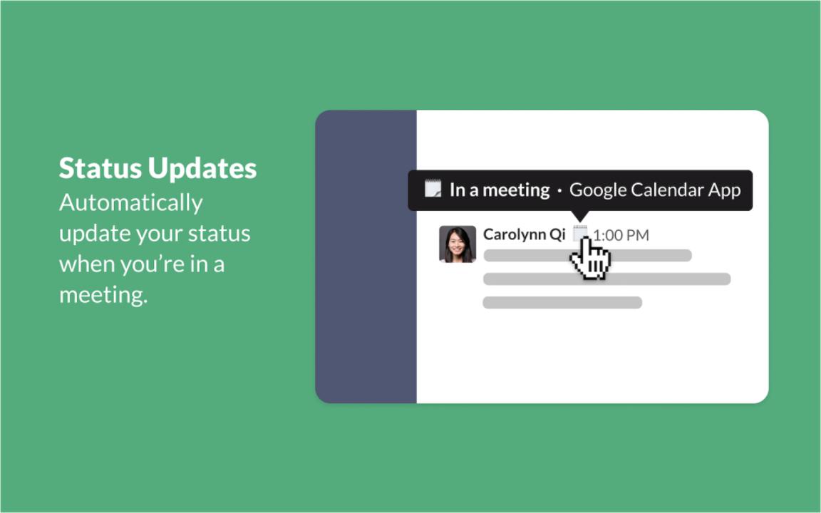SlackのステータスがいつのまにかGoogleカレンダーとシンクロする機能を手に入れてました