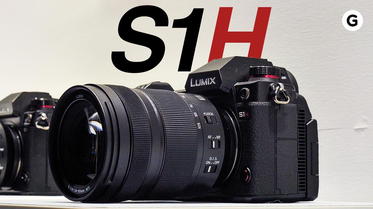 【動画】6K動画のモンスターミラーレス「LUMIX S1H」ハンズオン:ミラーレスの形をしたシネマカメラ