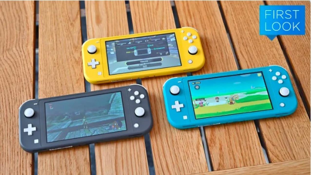 Nintendo Switch Liteハンズオン:ニンテンドースイッチの代わりではない