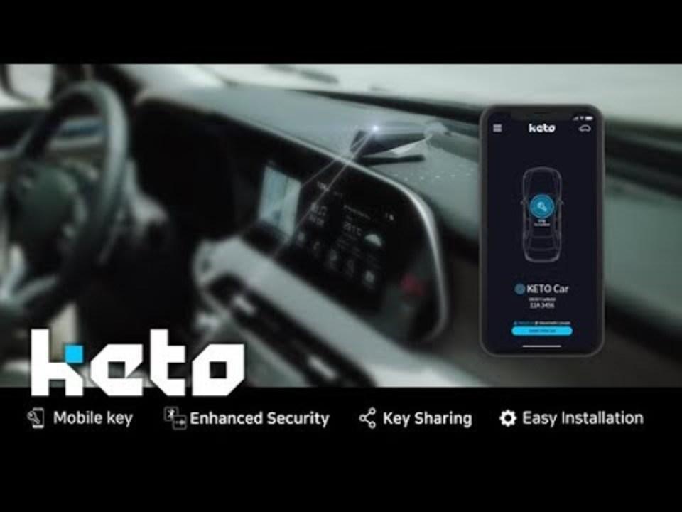 スマホがクルマのキーになる「KETO」。キーのシェアもOKよ