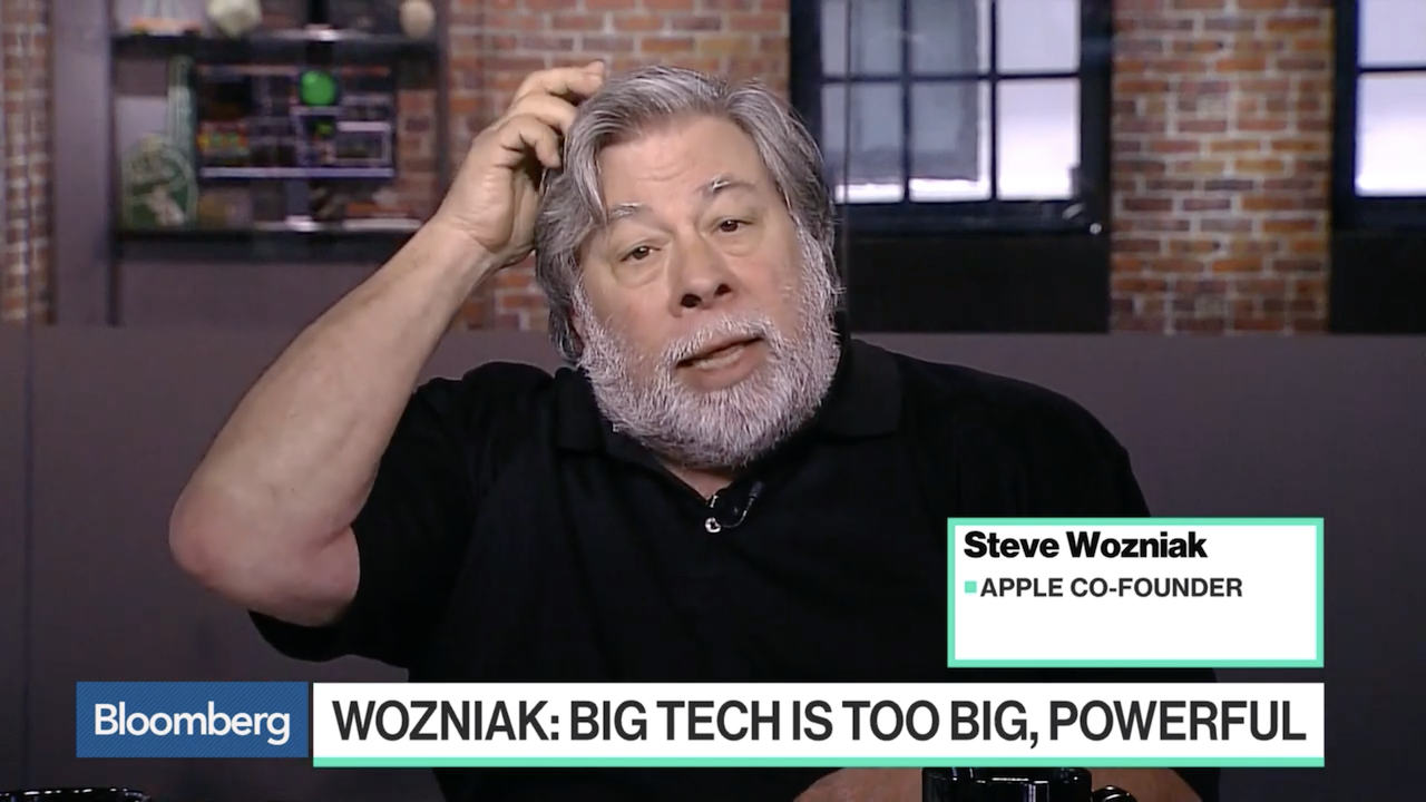 スティーブ・ウォズニアック「Appleみたいな大企業は解体すべき」