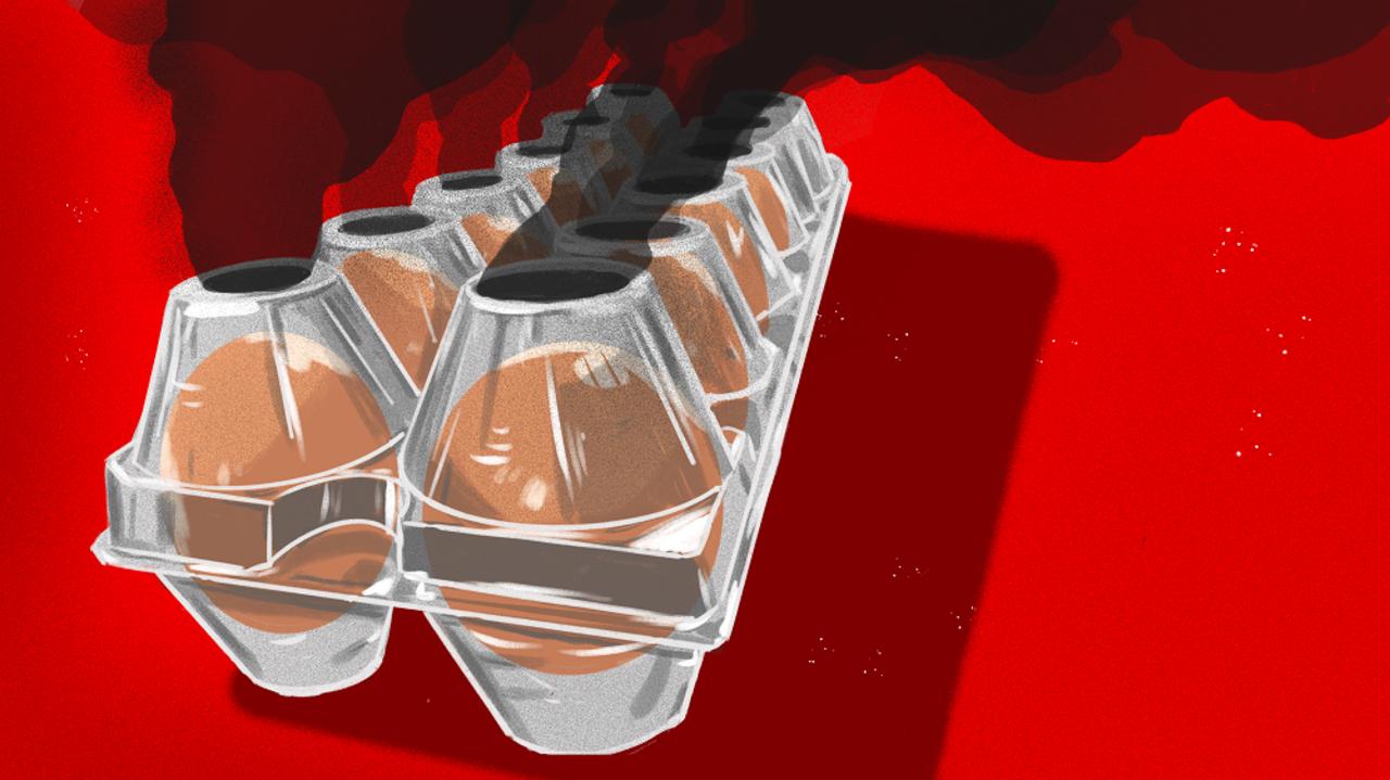 プラスチック減量中のアメリカで卵のプラパックが増加。なんで?