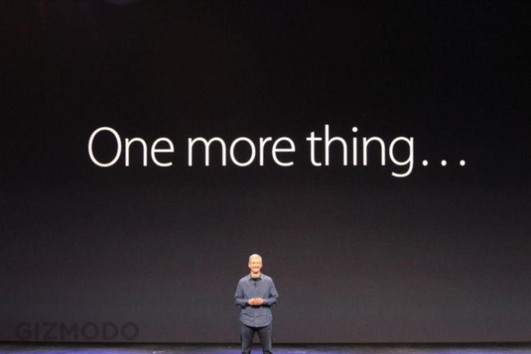 今年は「One more thing...」が復活? あと新Apple TVも出るかも