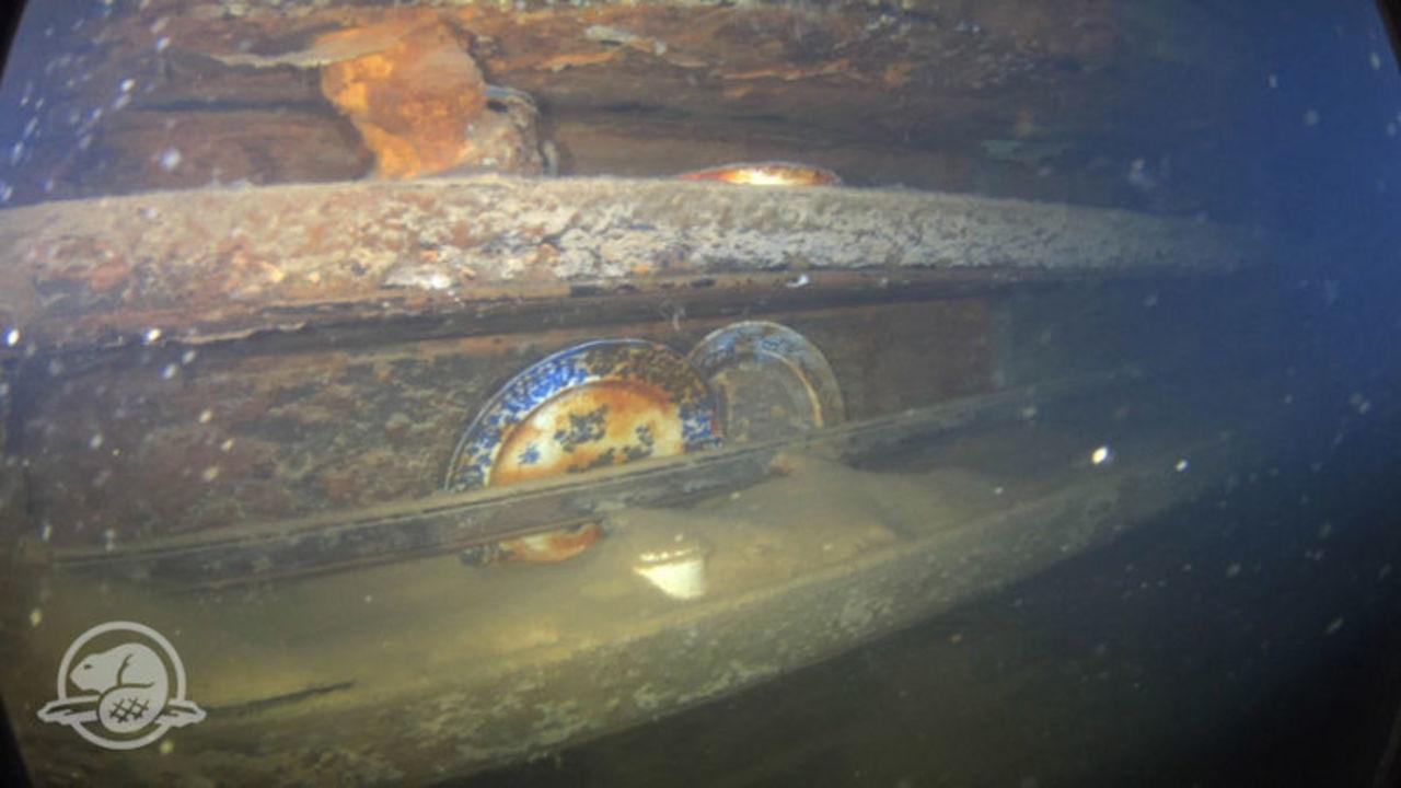 1845年のフランクリン遠征で沈没した船、調査チームが内部映像を初公開