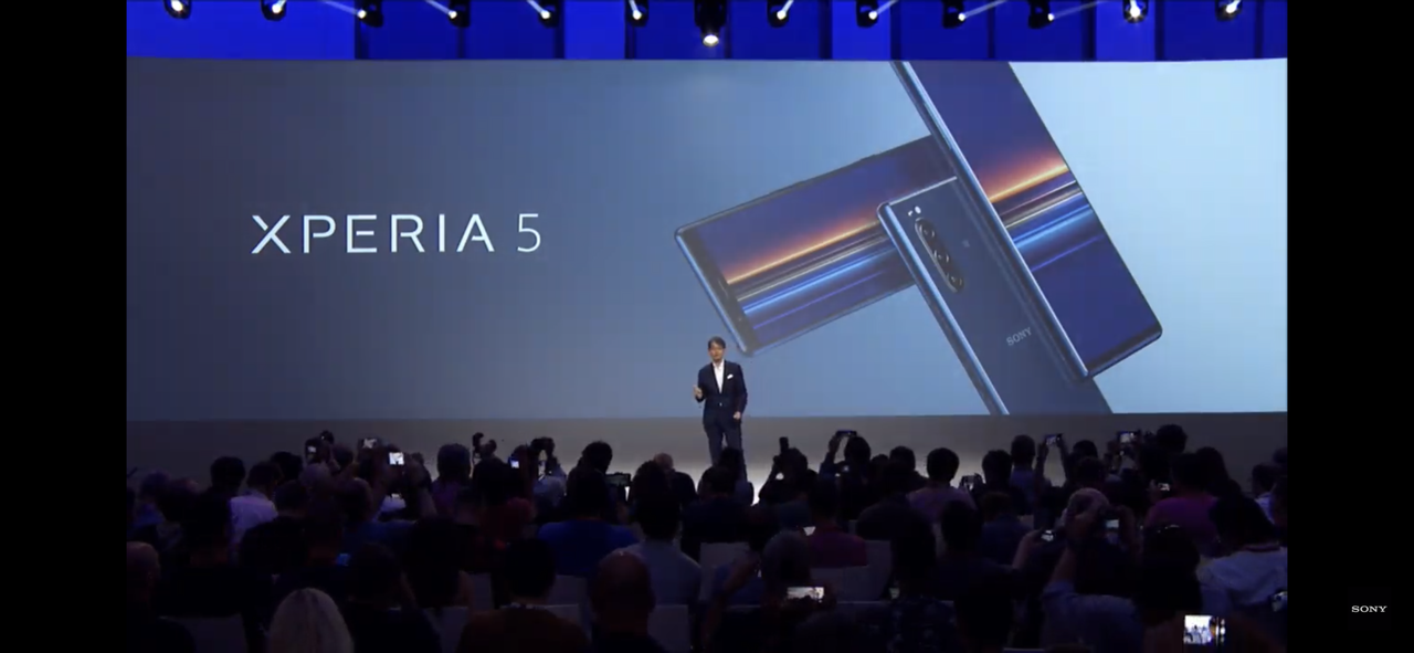 【速報】ソニー、新型スマホ「Xperia 5」を発表