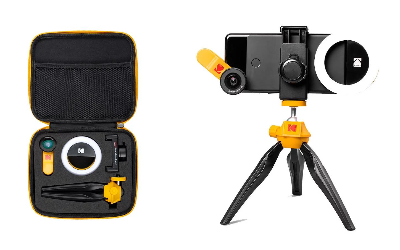 カラーリングに既視感! フィルム屋Kodakのスマホ撮影キットがあればなんでも撮れそう